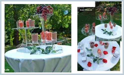 cake stands wedding